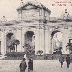 Postales: MADRID, PUERTA DE ALCALA. ED. FOTOTIPIA CASTAÑEIRA Y ALVAREZ Nº 514. SIN CIRCULAR. Lote 271410323