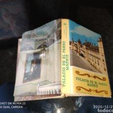 Cartes Postales: POSTALES PALACIO DE EL PARDO. Lote 231684310