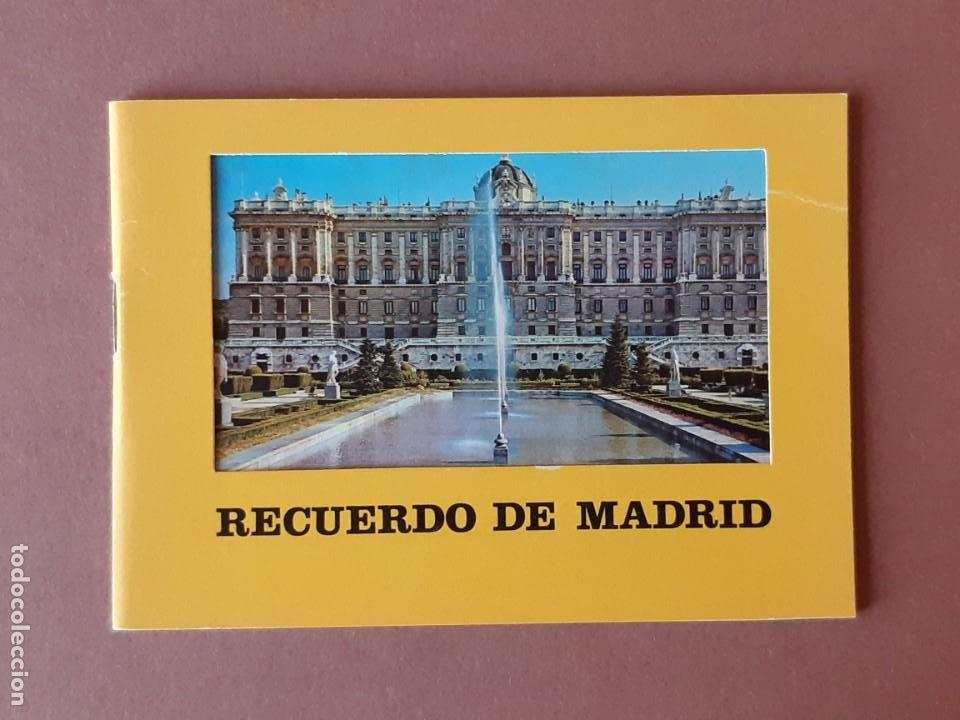 LIBRITO 32 FOTOS. TAMAÑO POSTAL. RECUERDO DE MADRID. FISA. 1976. (Postales - España - Madrid Moderna (desde 1940))