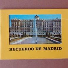 Postales: LIBRITO 32 FOTOS. TAMAÑO POSTAL. RECUERDO DE MADRID. FISA. 1976.. Lote 231867170