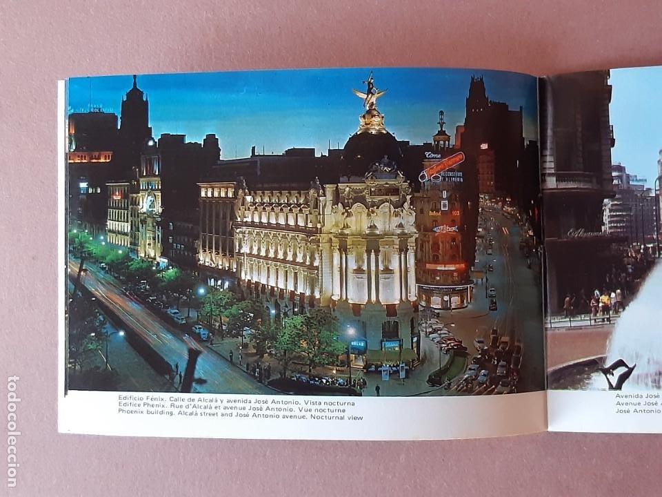 Postales: LIBRITO 32 FOTOS. TAMAÑO POSTAL. RECUERDO DE MADRID. FISA. 1976. - Foto 4 - 231867170