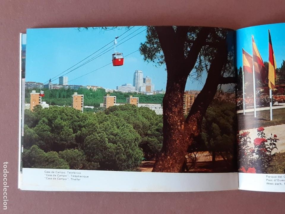 Postales: LIBRITO 32 FOTOS. TAMAÑO POSTAL. RECUERDO DE MADRID. FISA. 1976. - Foto 7 - 231867170