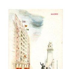 Postales: MADRID.- HOTEL WASHINGTON. GRAN VÍA.. Lote 232055560