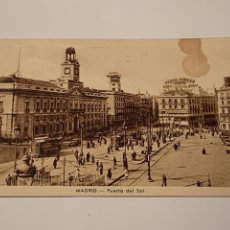 Postales: MADRID PUERTA DEL SOL. Lote 232876150