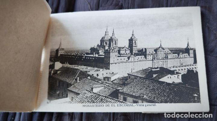 Postales: BLOCK LIBRILLO CON 20 POSTALES EL ESCORIAL - HELIOTIPIA ARTISTICA ESPAÑOLA - COMPLETO - Foto 2 - 232924430
