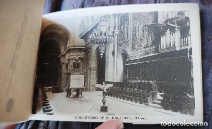 Postales: BLOCK LIBRILLO CON 20 POSTALES EL ESCORIAL - HELIOTIPIA ARTISTICA ESPAÑOLA - COMPLETO - Foto 3 - 232924430