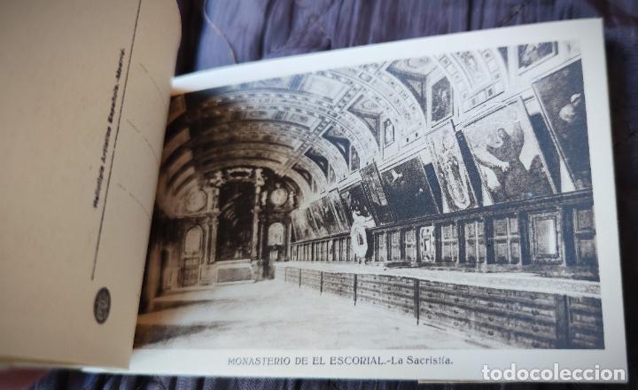 Postales: BLOCK LIBRILLO CON 20 POSTALES EL ESCORIAL - HELIOTIPIA ARTISTICA ESPAÑOLA - COMPLETO - Foto 4 - 232924430