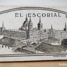 Postales: BLOCK LIBRILLO CON 20 POSTALES EL ESCORIAL - HELIOTIPIA ARTISTICA ESPAÑOLA - COMPLETO. Lote 232924430