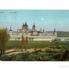 Postales: MONASTERIO DEL ESCORIAL.(MADRID).- VISTA GENERAL.. Lote 233821145