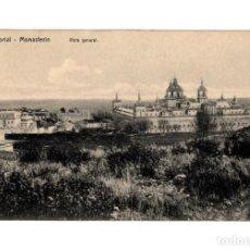 Postales: MONASTERIO DEL ESCORIAL.(MADRID).- VISTA GENERAL.. Lote 233821500