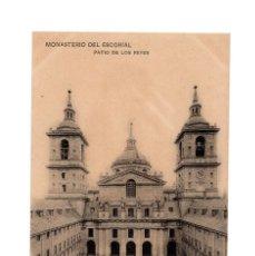 Postais: MONASTERIO DEL ESCORIAL.(MADRID).- PATIO DE LOS REYES.. Lote 233822530