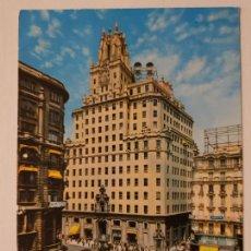 Postais: MADRID - TELEFÓNICA RED DE SAN LUIS - AVENIDA JOSÉ ANTONIO - P41739. Lote 234139380