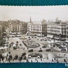 Postales: POSTAL PUERTA DEL SOL (1954) MADRID - RW. Lote 234523005