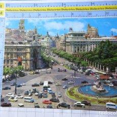 Postais: POSTAL DE MADRID. AÑO 1964. PLAZA CIBELES. COCHES AUTOBUSES CAMIONES TAXIS. 82 GARRABELLA. 117. Lote 234559315
