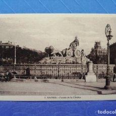Postales: POSTAL MADRID 5 FUENTE DE LA CIBELES EDITA GRAFOS. Lote 234604610