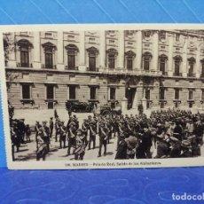 Postales: POSTAL MADRID 196 PALACIO REAL EDITA GRAFOS. Lote 234604625