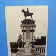 Postales: POSTAL MADRID 180 PARQUE DEL RETIRO EDITA GRAFOS. Lote 234604660