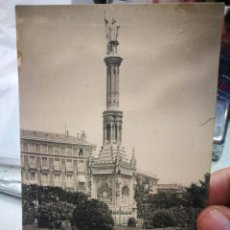Postales: POSTAL MADRID MONUMENTO A COLÓN N 1041 HAUSER Y MENET TIENE DETERIORO. Lote 234742910