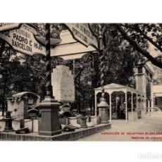 Postales: MADRID.- EXPOSICIÓN DE INDUSTRIAS MADRILEÑAS 1907. GALERÍAS DE MÁQUINAS.. Lote 235245575