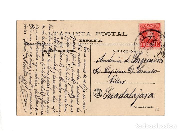 Postales: MADRID.- EXPOSICIÓN DE INDUSTRIAS MADRILEÑAS 1907. GALERÍAS DE MÁQUINAS. - Foto 2 - 235245575