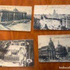 Postales: LOTE 8 POSTALES ANTIGUAS DE MADRID. Lote 235258345