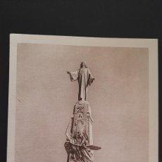 Postales: LOTE 160121 POSTAL MONUMENTO SAGRADO CORAZON DE JESUS GETAFE MADRID HELIOTIPIA KALLMEYER. Lote 235345530