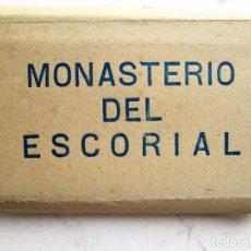 Postales: ACORDEON DE 16 - FOTOGRAFIAS ANTIGUAS DE REAL MONASTERIO DE SAN LORENZO DEL ESCORIAL. Lote 235878095