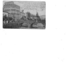 Postales: ANTIGUA POSTAL LAS PALMAS GUINIGUALDA Y PUENTE DEL VERDUGO CIRCULADA Y ESCRITA PORTADA. Lote 236103310