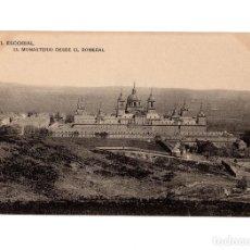 Postales: MONASTERIO DEL ESCORIAL.(MADRID).- EL MONASTERIO DESDE EL ROMERAL.. Lote 236794115