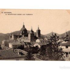 Postales: MONASTERIO DEL ESCORIAL.(MADRID). MONASTERIO DESDE LOS TERREROS.. Lote 236799965