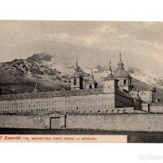 Postales: MONASTERIO DEL ESCORIAL.(MADRID).- VISTO DESDE LA HERRERÍA.. Lote 236801920