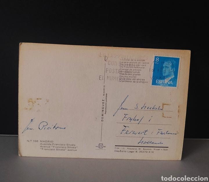 Postales: Postal Madrid avenida Francisco Silvela España - Foto 2 - 236915710