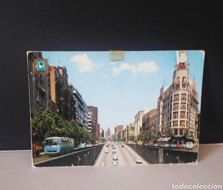 POSTAL MADRID AVENIDA FRANCISCO SILVELA ESPAÑA (Postales - España - Madrid Moderna (desde 1940))