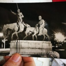 Postales: POSTAL MÁDRID MONUMENTO A DON QUIJOTE N B)6 CIMER ESCRITA Y SELLADA. Lote 236986780