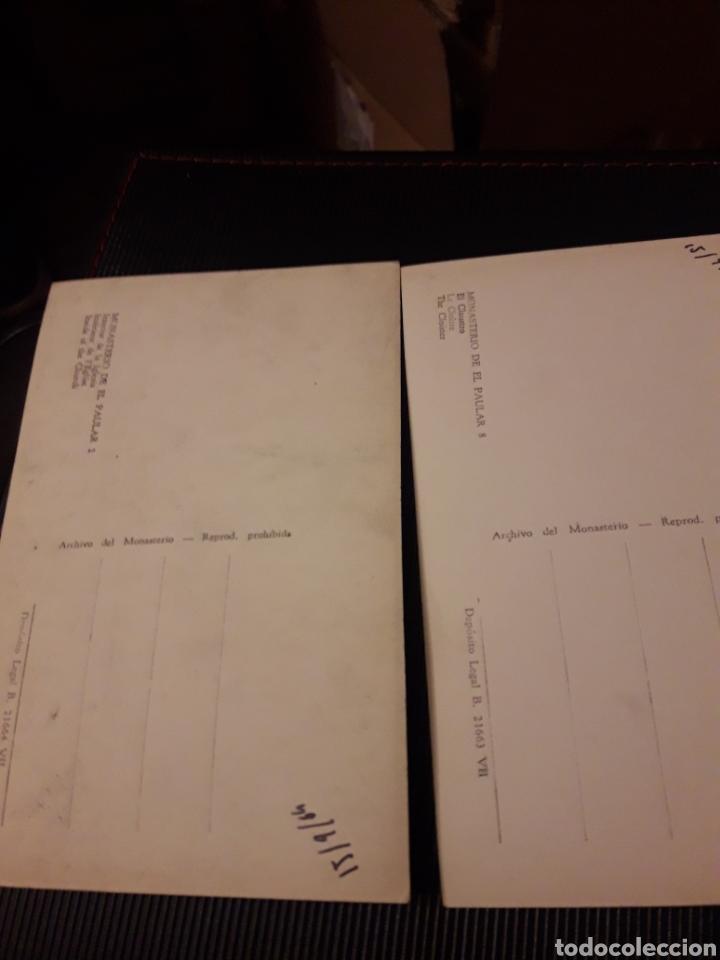 Postales: Dos antiguas postales fotografícas, Monasterio del Paular - Foto 2 - 237015895