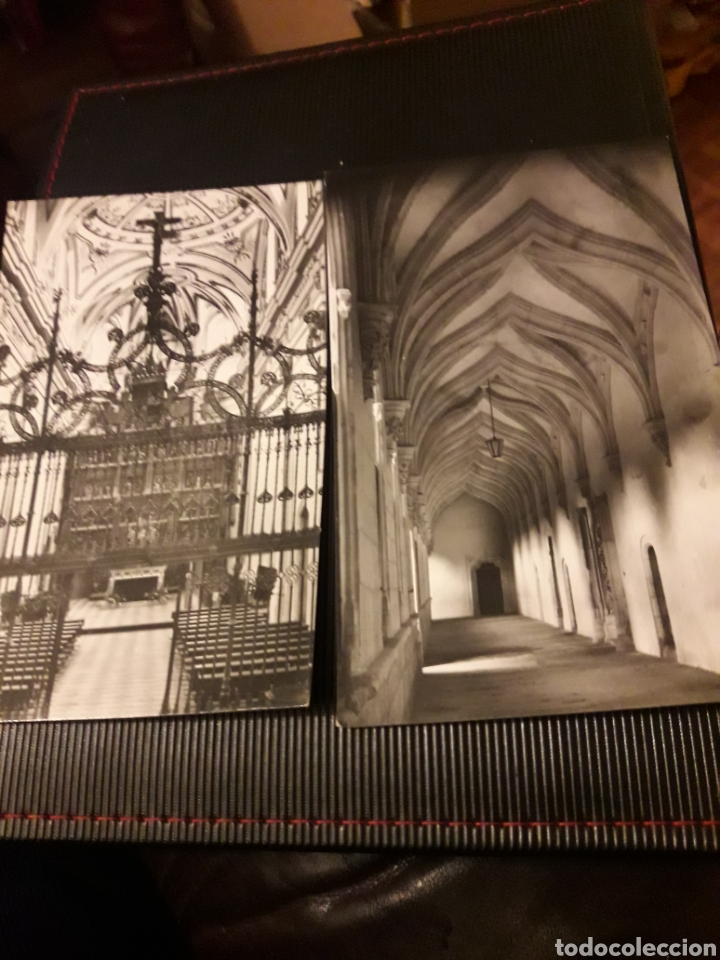 DOS ANTIGUAS POSTALES FOTOGRAFÍCAS, MONASTERIO DEL PAULAR (Postales - España - Madrid Moderna (desde 1940))