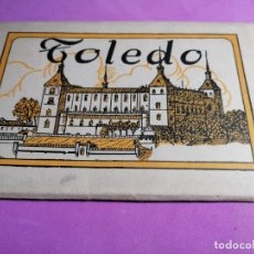 Postales: BLOC ACORDEON DE HELIOTIPIA ARTISTICA ESPAÑOLA SEGUNDA SERIE 2ª * TOLEDO *. Lote 238118810