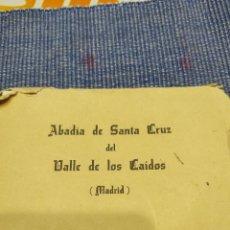 Postales: POSTALES VALLE DE LOS CAIDOS. Lote 238290355