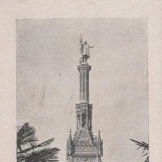Postales: POSTAL MADRID - MONUMENTO A COLON 17. Lote 240401265