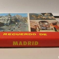 Postales: RECUERDO DE MADRID/ 10,5×8,5 / LIBRITO DE POSTALES/ (REF.CAJA L.P). Lote 241525815