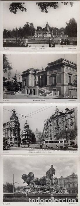 Postales: POSTALES ANTIGUAS MADRID. AÑOS 50-60. ACORDEÓN 9 UNIDADES - Foto 2 - 242173405