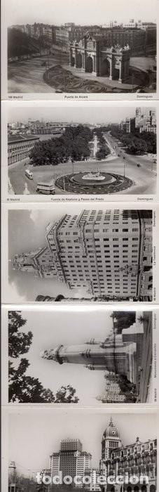 Postales: POSTALES ANTIGUAS MADRID. AÑOS 50-60. ACORDEÓN 9 UNIDADES - Foto 3 - 242173405