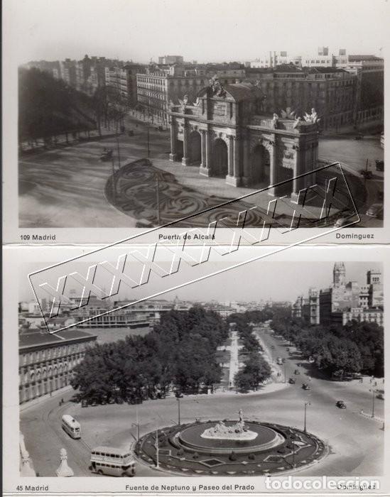 Postales: POSTALES ANTIGUAS MADRID. AÑOS 50-60. ACORDEÓN 9 UNIDADES - Foto 5 - 242173405