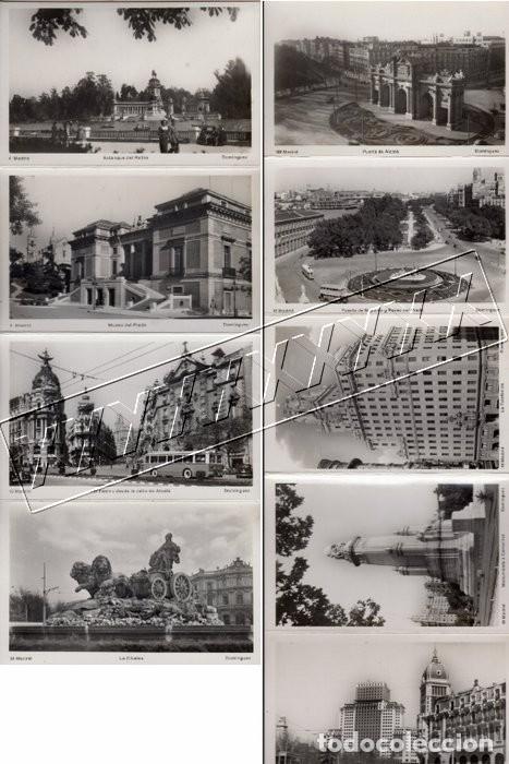 Postales: POSTALES ANTIGUAS MADRID. AÑOS 50-60. ACORDEÓN 9 UNIDADES - Foto 7 - 242173405
