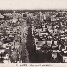 Postales: MADRID, VISTA PARCIAL PANORAMICA. ED. HELIOTIPIA ARTISTICA ESPAÑOLA Nº 32. CIRCULADA. Lote 242394780