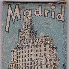Postales: MADRID, BLOK POSTAL COMPLETO CON 23 VISTAS. ED. HELIOTIPIA ARTISTICA ESPAÑOLA. Lote 242946745