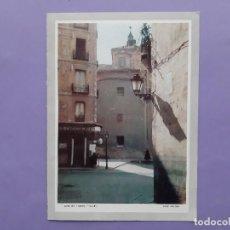 Postales: TARJETA FELICITACION CALLE DEL CORDON MADRID FOTO FERLOSA. Lote 243101370