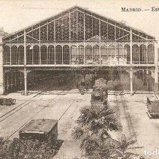 Postales: MADRID - ESTACIÓN DEL NORTE LACOSTE C. EN 1917. Lote 243199780