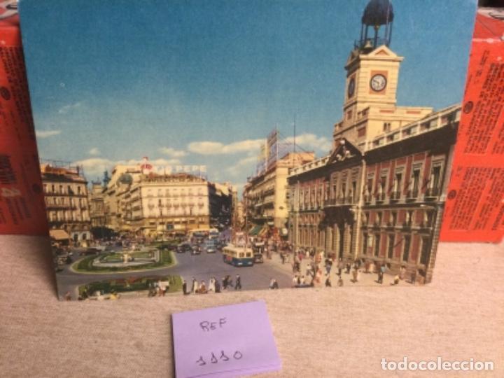 POSTAL ANTIGUA MADRID - PUERTA DEL SOL - -(REF,1110) 15 X 20,5 CMS APRX (Postales - España - Madrid Moderna (desde 1940))
