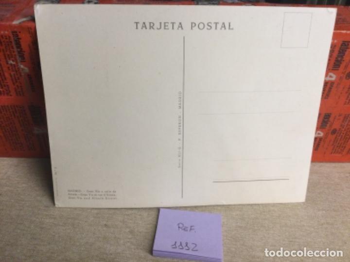 Postales: Postal antigua MADRID - GRAN VÍA Y CALLE ALCALÁ - -(ref,1112) 15 x 20,5 cms aprx - Foto 2 - 243690030
